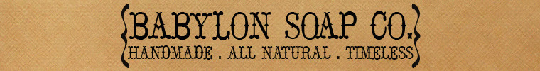 Babylon Soap Co. - Etsy