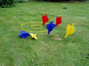 Lawn Darts - Backyard Summer Games 2012