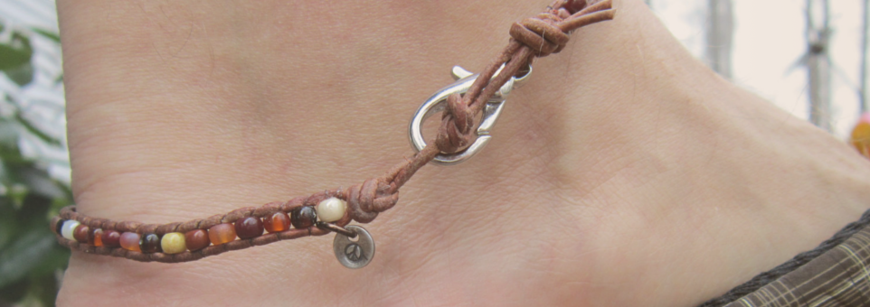 unique tribal bracelet bracelets tattoo com on anklet ankle golfian
