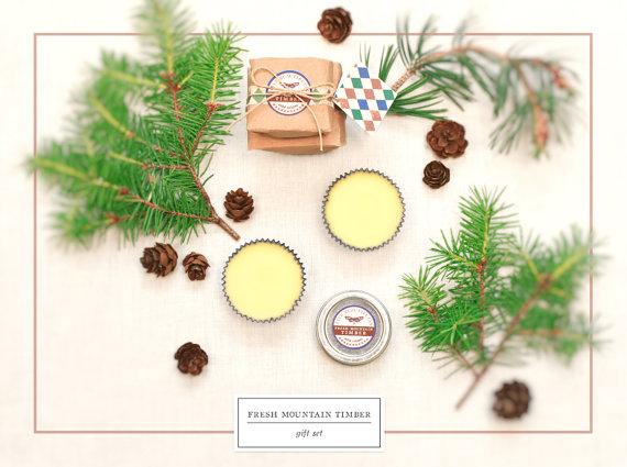Fresh Mountain Timber Gift Set