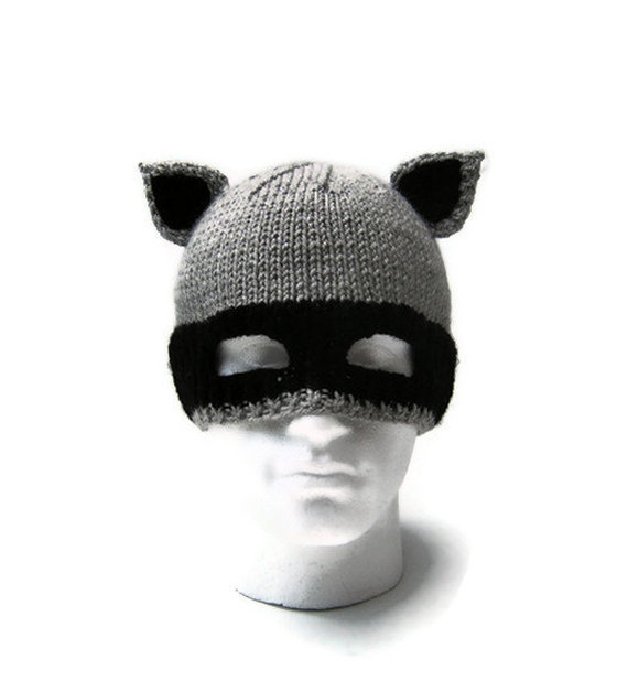 Mens Raccoon Hat - Jarg0n 2c6c4dea0a1