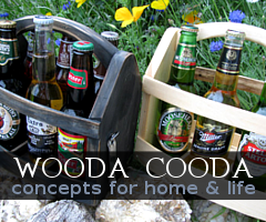 Wooda Cooda - Handmade Wood Accessories - Beer Carriers