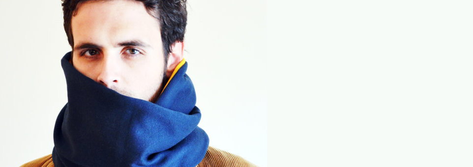handmade mens scarves - maple and oak designs