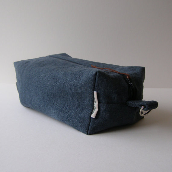 Handmade Men's Toiletries Bag - Hemp London