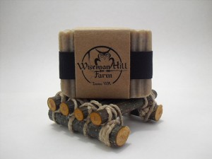 Men's Soap with Dish - Wisemann Hill Farm