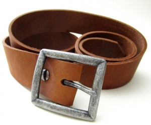 Desert Brown Men's Leather Belt - San Filippo Leather
