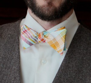 Handmade Bow Tie Tartain - Divine Domestication