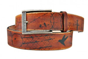 Men's Handmade Leather Belt - Backbeat Leather