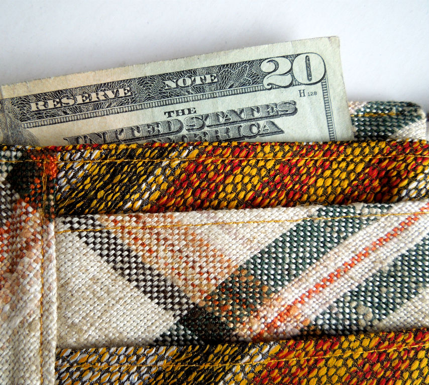 Men's Handmade Wallet - Vintage Upcycle