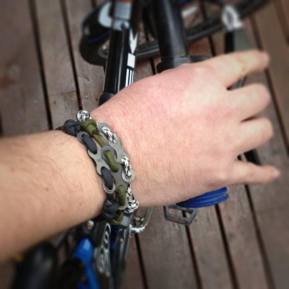 Paracord Chain Bracelet