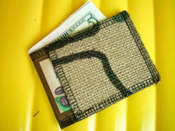 Mens Handmade Wallet Etsy