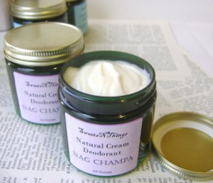 Nag Champa Deodorant Men's Handmade - Sweets N Things