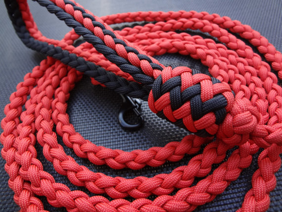 Paracord leash for Paracord leash instructions