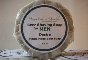 Beer Shaving Soap - Home Brewed Soaps