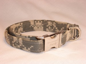 Camo Handmade Dog Collar - Swanky Pet