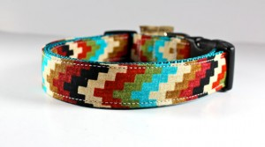 Handmade Dog Collar - Funky Mutt