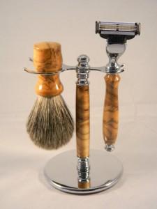 Handmade Razor Brush - Backyard Sawdust