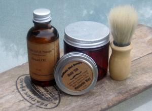 Men's Travel Grooming Kit - Buffalo Girl Soaps