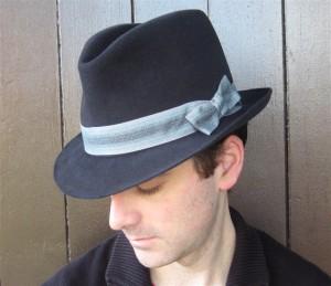 Mens Handmade Fedora Hat