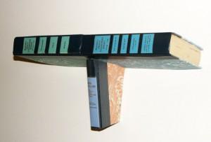floating bookshelf handmade