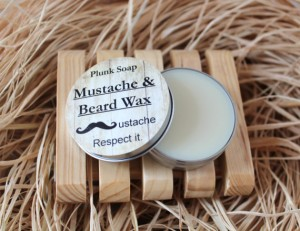 handmade mustache and beard wax