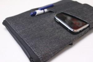 mens handmade tablet case