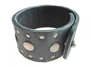 mens leather cuff