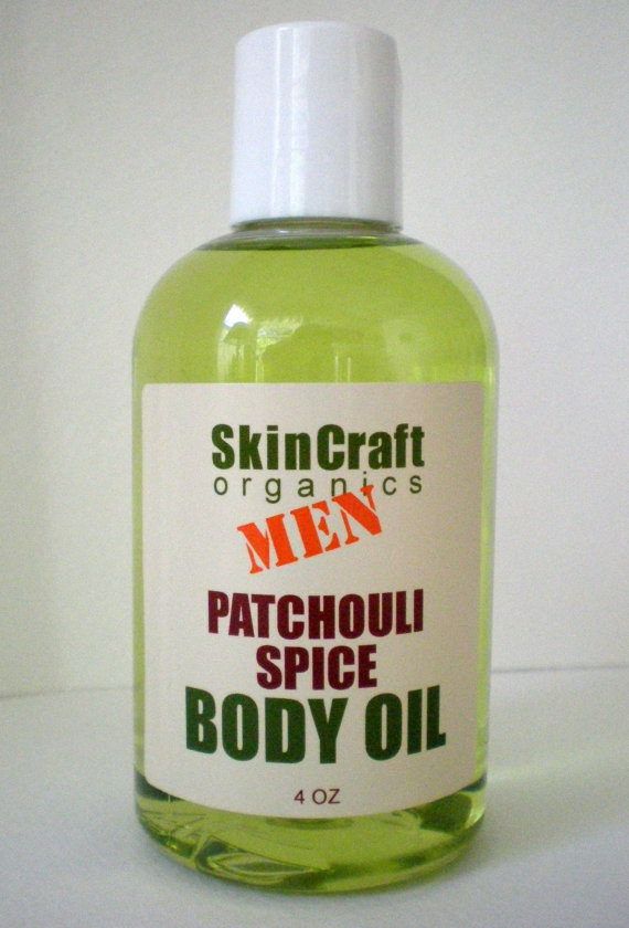 Handmade Men's Body Oil