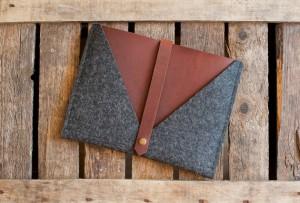 Handmade iPad Sleeve
