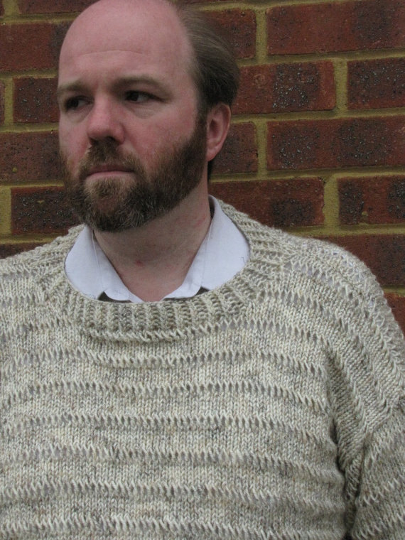 Mens Handmade Sweater