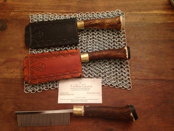 mustache and beard comb