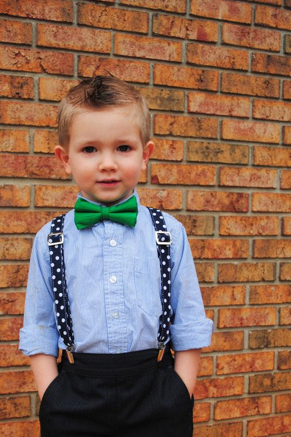 Boys Handmade Suspenders