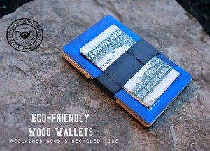 Balbo Reclaimed Wood Wallet