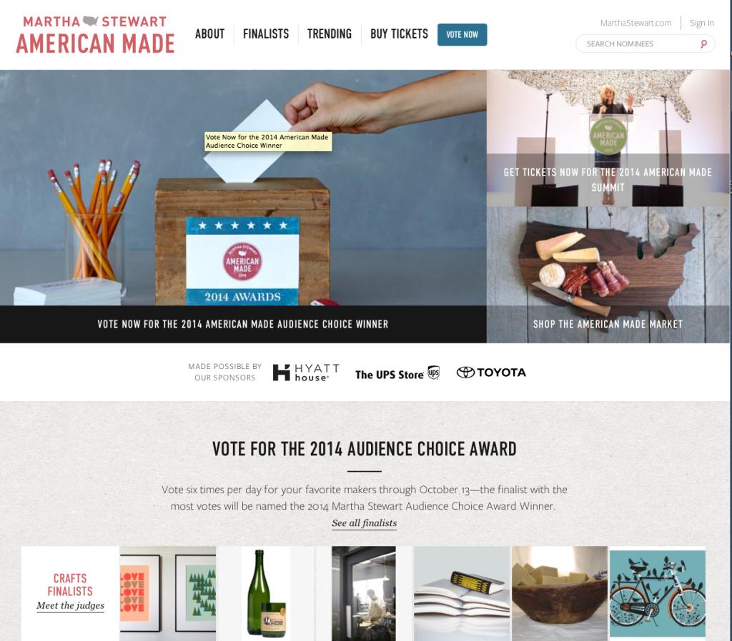 America Made Contest 2014