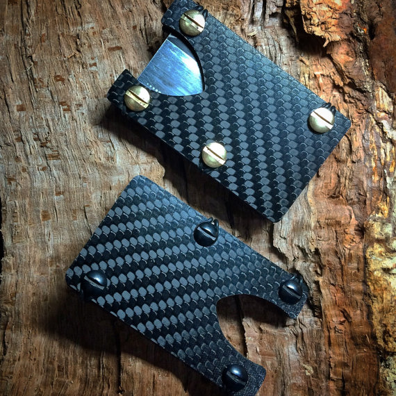 "Carbon Fiber Wallet "" The Black Sheep"""