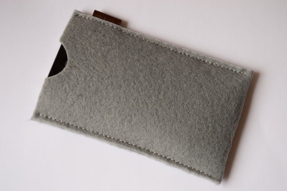 iPhone 6 case Felt case Men gift Felt