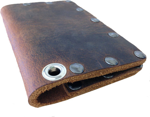 Vintage Buffalo Leather Biker Wallet