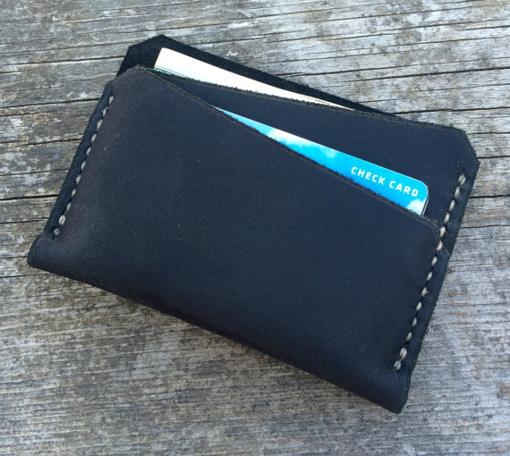 Slim mens wallet