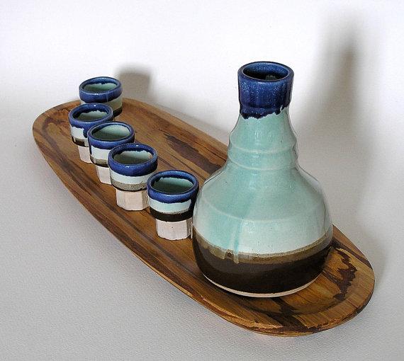 Handmade Sake Set
