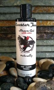 Mens Handmade Shave Gel - Rooster Juce