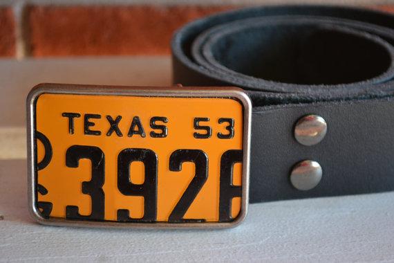 Upcycled Belt Buckle Handmade