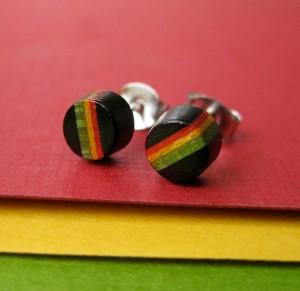 Men's Handmade Stud Earrings