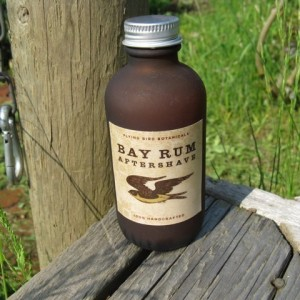 Handmade Bay Rum Aftershave - Flying Bird Botanicals