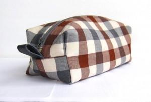 Handmade Men's Travel Toiletries Bag - Coco Bags
