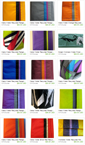 Upcycled Wallets