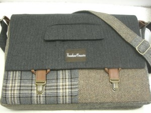 handmade messenger bag for men