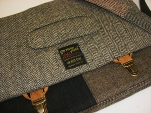 men's handmade messenger bag