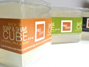 soap and shave cube