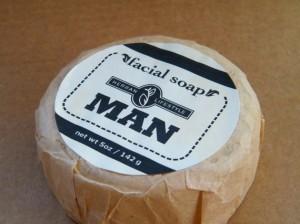 handmade mens facial soap