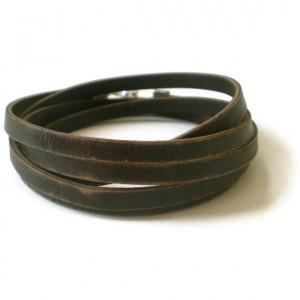 Handmade Men's Wrap Bracelet